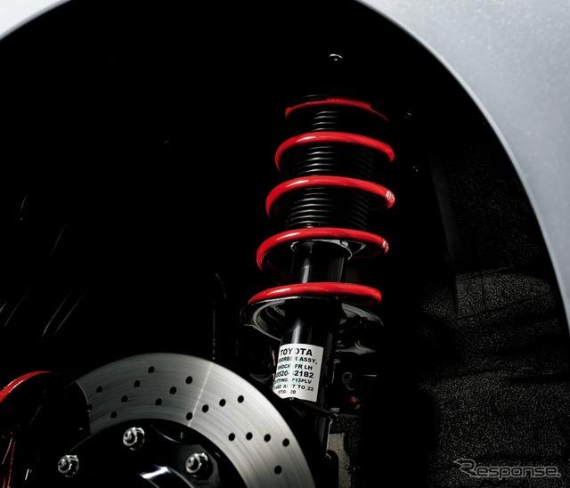 トヨタ 86GR 専用チューニングサスペンション(SACHSアブソーバー+ローダウンスプリング)