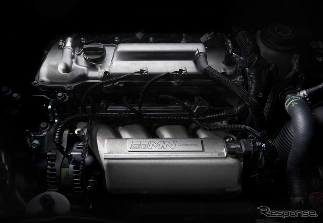 トヨタ ヴィッツ GRMN スーパーチャージャー付1.8リットルエンジン