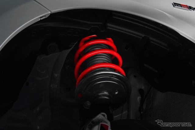 トヨタ ヴィッツ GRMN 専用チューニングサスペンション