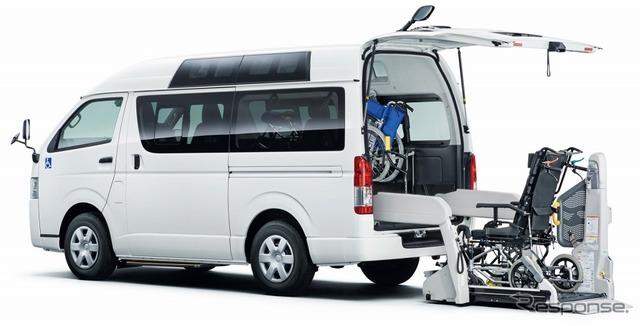 トヨタ ハイエース ウェルキャブ 車いす仕様車 Aタイプ ルーフサイドウインドウ装着車 2WD 2000ガソリン ロング 標準ボディ