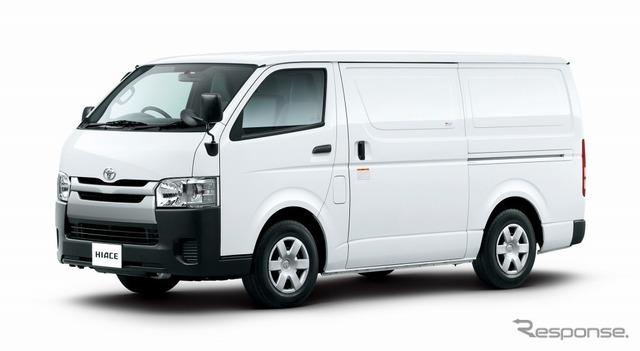 トヨタ ハイエース TECS車 中温強化冷凍バン