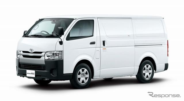 トヨタ レジアスエース TECS車 中温強化冷凍バン
