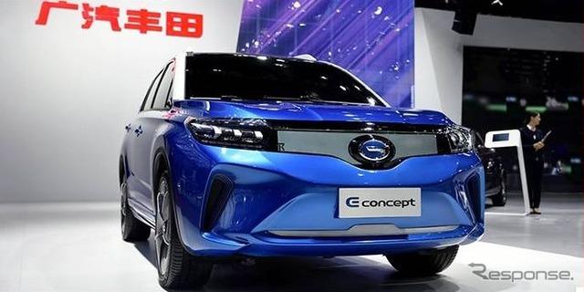 トヨタ eコンセプト は2018年の市販EVを示唆【広州モーターショー2017】