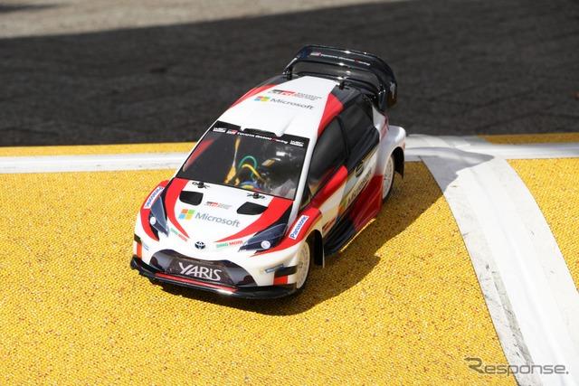 『SHIBUYA SPORTS CAR FES 2017』タミヤブース(WRC ヤリス)