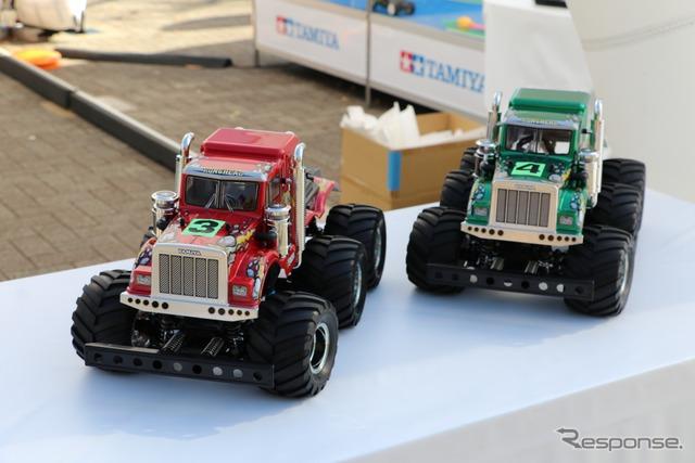 『SHIBUYA SPORTS CAR FES 2017』タミヤブース(6輪ラジコン)