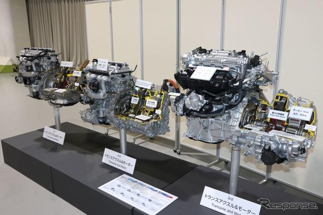 プリウスのエンジンユニット