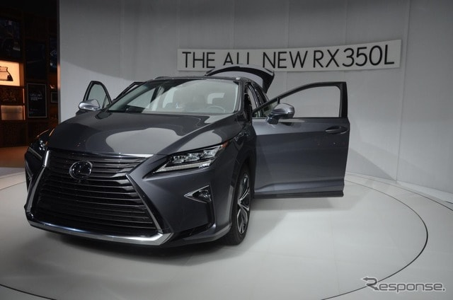 レクサスRX L(ロサンゼルスモーターショー2017)