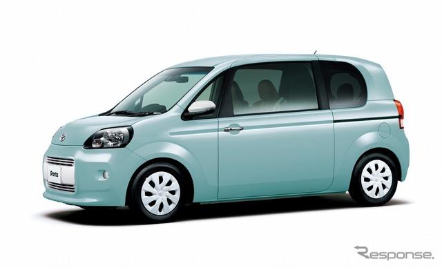 トヨタ・ポルテ ア・ラ・モード・ブラン