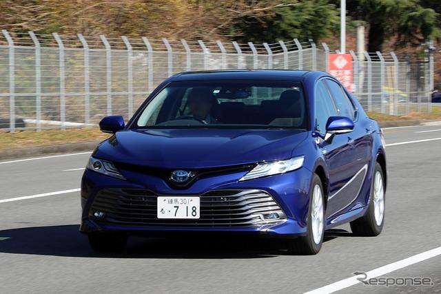 トヨタ『カムリ』(COTY2017試乗会)