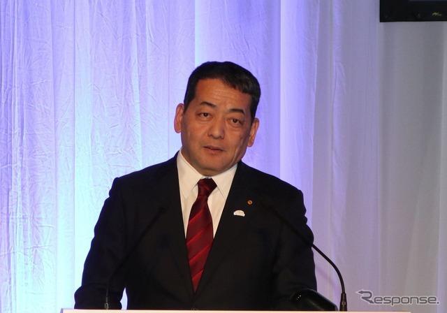 トヨタ 取締役副社長 寺師茂樹氏