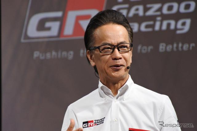 GAZOOレーシングカンパニー 友山茂樹 プレジデント (トヨタ自動車副社長)