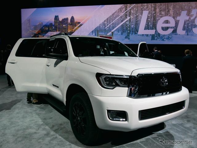 北米向け大型SUV『セコイア』