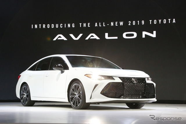 トヨタ アバロン(デトロイトモーターショー2018)