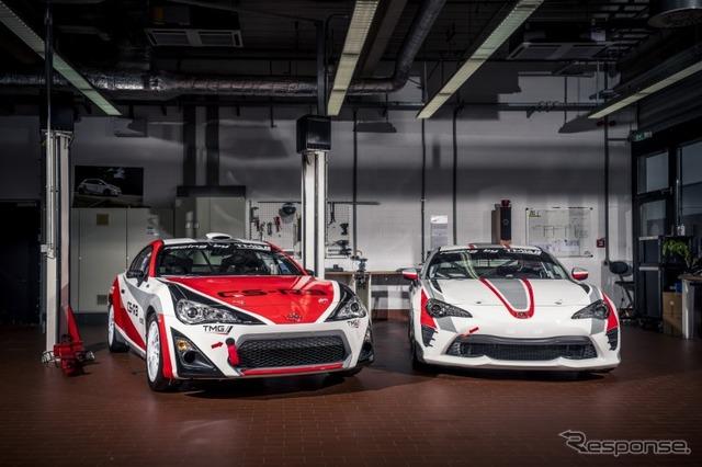トヨタ86のラリーカー「CS-R3」とレーシングカー「CSカップ」