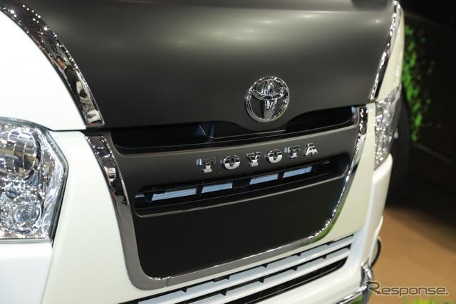 トヨタ・モデリスタ・ハイエース・リラクベース (東京オートサロン2018)