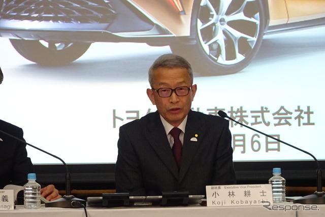 トヨタの小林耕士副社長