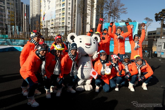 平昌オリンピック選手歓迎イベント (c) Getty Images