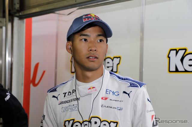 昨季GT500チャンピオンの平川亮。