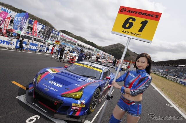 SUPER GTを戦う「SUBARU BRZ GT300」。