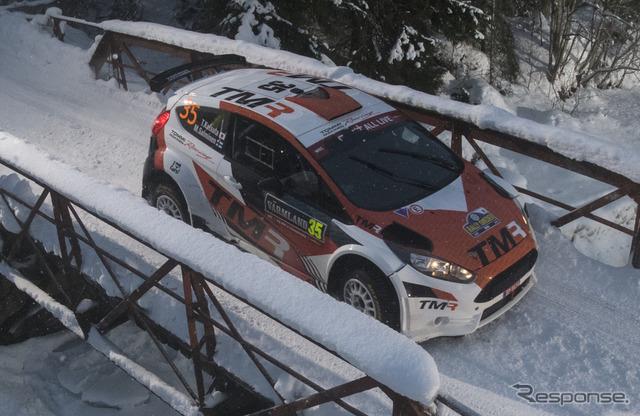 「WRC2」で#35 勝田貴元がクラス優勝を達成。