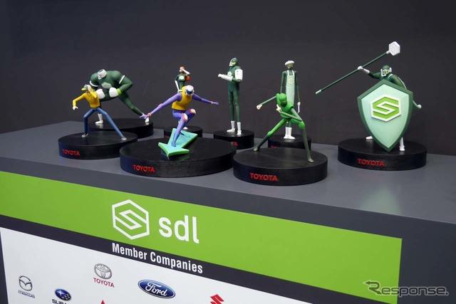 「sdl」がグローバルで展開するイメージキャラクター