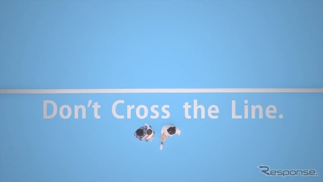 Webムービー「Don't Cross the Line.」
