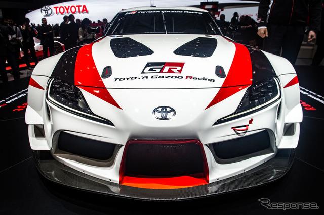 トヨタGRスープラ・レーシングコンセプト(ジュネーブモーターショー2018) (c) Getty Images