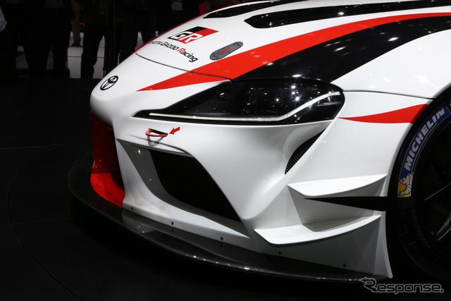 トヨタ スープラ GRレーシングコンセプト(ジュネーブモーターショー2018)