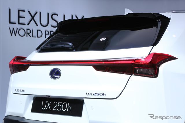 レクサスUX(ジュネーブモーターショー2018)