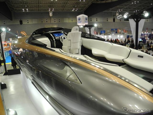 「レクサス スポーツヨット コンセプト」
