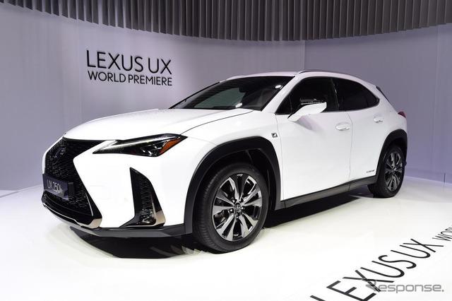 レクサス UX のUX250h(ジュネーブモーターショー2018)