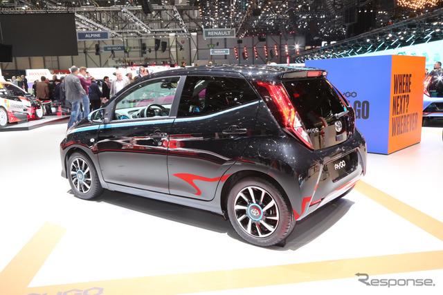 トヨタアイゴ改良新型(ジュネーブモーターショー2018)