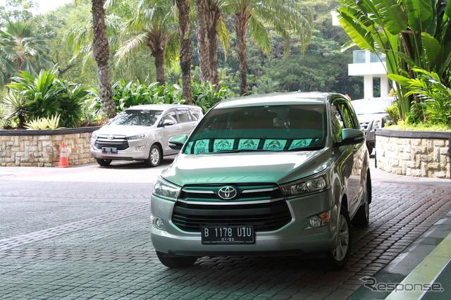トヨタのIMVシリーズのMPV『イノーバ』