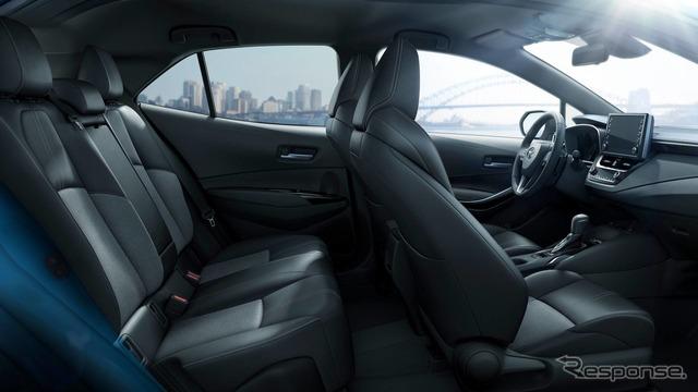 トヨタ・カローラ ・ハッチバック 新型