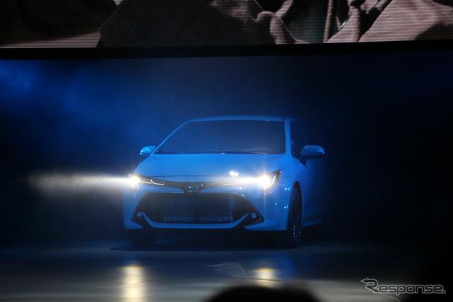 トヨタ・カローラ・ハッチバック新型