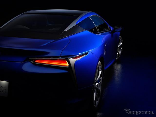 レクサス LC 特別仕様車 ストラクチュラルブルー