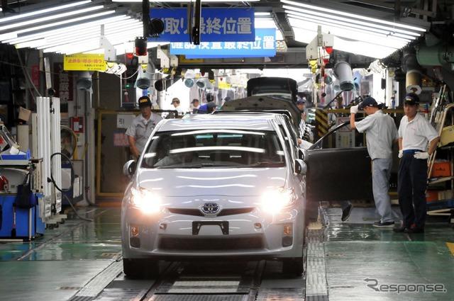 トヨタ堤工場(資料画像)