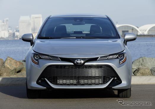 トヨタ・カローラハッチバック新型
