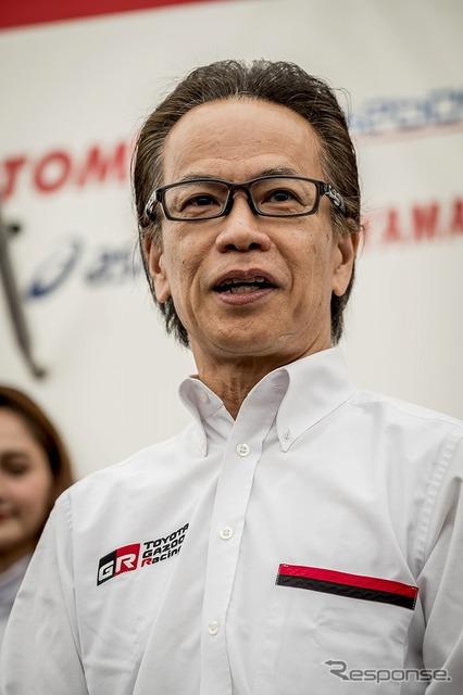 GAZOOレーシングカンパニープレジデントの友山茂樹氏