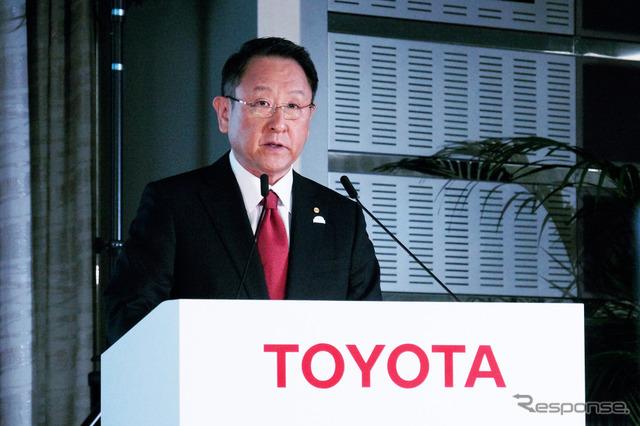 豊田章男社長(資料画像)