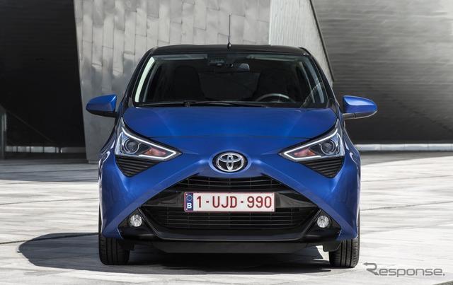 トヨタ・アイゴ改良新型