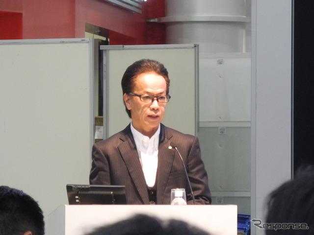 トヨタ自動車の友山茂樹副社長