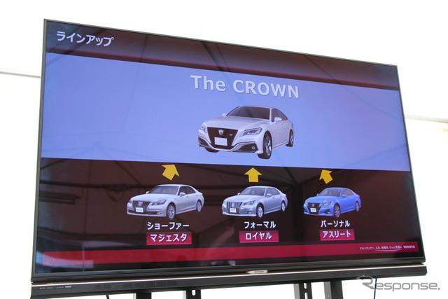 トヨタ クラウン 新型 試乗会