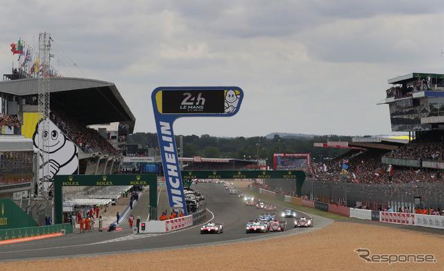 """2018年ルマン24時間レースは、トヨタの""""1-2対決""""に。"""