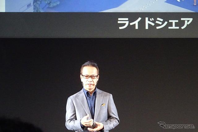 トヨタ 友山茂樹副社長
