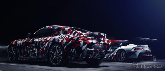 トヨタ スープラ 新型、直6搭載が確定…プロトタイプをグッドウッド2018で発表予定