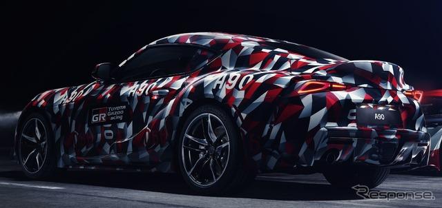 トヨタ スープラ 新型のプロトタイプ