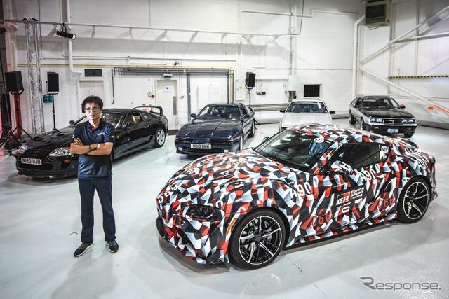 スープラ 新型、トヨタ最後の内燃機関搭載スポーツカーか…チーフエンジニア談
