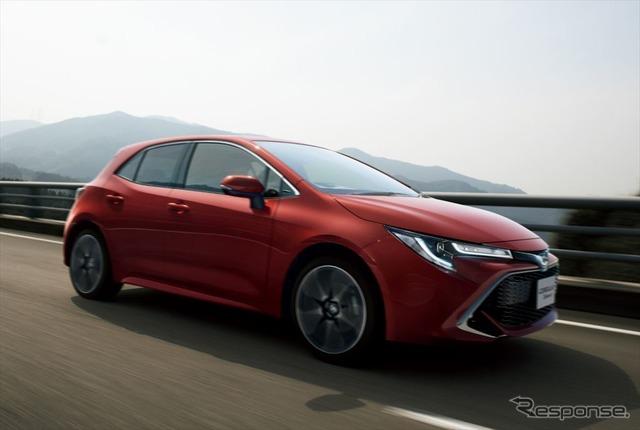 トヨタ カローラスポーツ、インテリジェントMT搭載モデルを追加