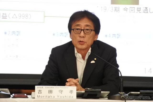 トヨタ自動車 吉田守孝 副社長